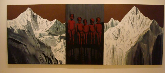 Agung Mangu Putra: Global Warming III The left and the melted ones