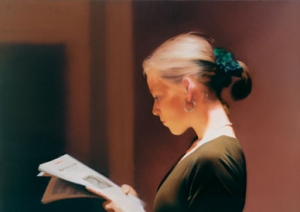 Gerhard Richter Lesende. Courtesy San Francisco Museum of Modern Art © Gerhard Richter